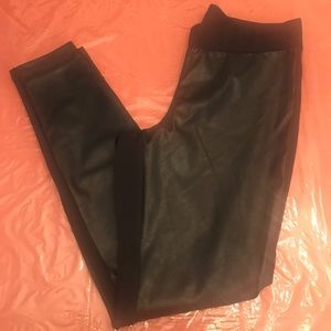 Women's Faux Leather Legging